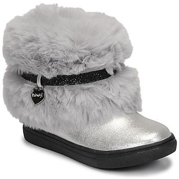 Schuhe Mädchen Boots Primigi BABY LUX Silbern
