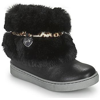 Schuhe Mädchen Boots Primigi B&G LUX Schwarz