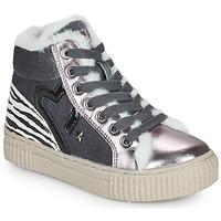 Schuhe Mädchen Sneaker High Primigi GIRL ALPHA Silbern