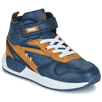 Schuhe Jungen Sneaker High Primigi B&G MEGA Blau / Braun