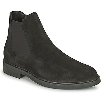 Schuhe Herren Boots Selected CHELSEA Schwarz