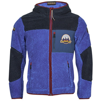 Kleidung Herren Fleecepullover Napapijri YUPIK Marine / Blau