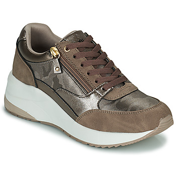 Schuhe Damen Sneaker Low Xti 43124 Braun / Bronze