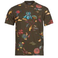 Kleidung Herren T-Shirts Scotch & Soda PRINTED RELAXED FIT Braun