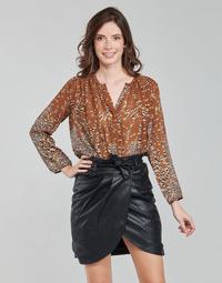 Kleidung Damen Tops / Blusen See U Soon 21212103 Multicolor