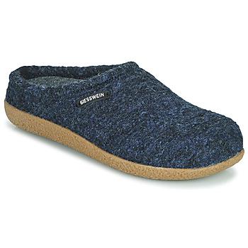 Schuhe Herren Hausschuhe Giesswein VEITSH Blau
