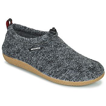 Schuhe Herren Hausschuhe Giesswein VENT Grau