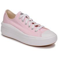 Schuhe Damen Sneaker Low Converse CHUCK TAYLOR ALL STAR MOVE SEASONAL COLOR OX Rose