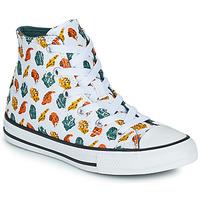 Schuhe Kinder Sneaker High Converse CHUCK TAYLOR ALL STAR DINO DAZE HI Weiss / Grün / Orange
