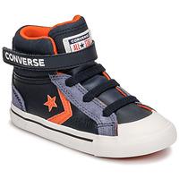 Schuhe Kinder Sneaker High Converse PRO BLAZE STRAP LEATHER TWIST HI Blau