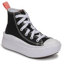 Schuhe Mädchen Sneaker High Converse CHUCK TAYLOR ALL STAR MOVE CANVAS HI Schwarz / Rose
