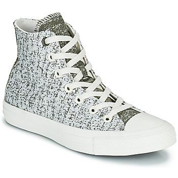 Schuhe Damen Sneaker High Converse CHUCK TAYLOR ALL STAR HYBRID TEXTURE HI Grau