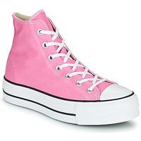 Schuhe Damen Sneaker High Converse CHUCK TAYLOR ALL STAR LIFT SEASONAL COLOR HI Rose