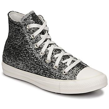 Schuhe Damen Sneaker High Converse CHUCK TAYLOR ALL STAR GOLDEN REPAIR HI Schwarz