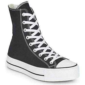 Schuhe Damen Sneaker High Converse CHUCK TAYLOR ALL STAR LIFT CORE CANVAS X-HI Schwarz