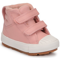 Schuhe Mädchen Sneaker High Converse CHUCK TAYLOR ALL STAR BERKSHIRE BOOT SEASONAL LEATHER HI Rose