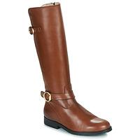 Schuhe Mädchen Klassische Stiefel Acebo's 9904-CUERO-T Braun
