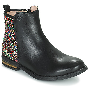 Schuhe Mädchen Boots Acebo's 9917VE-NEGRO-T Schwarz