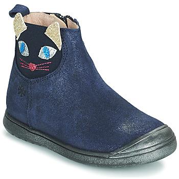 Schuhe Mädchen Boots Acebo's 3159SU-MARINO Marine