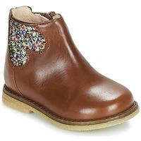 Schuhe Mädchen Boots Acebo's 3202-CUERO-C Braun