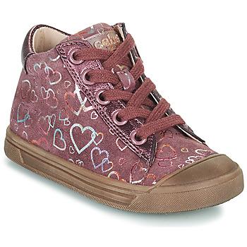 Schuhe Mädchen Sneaker High Acebo's 5533EL-GRANADA Rose