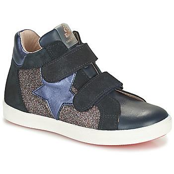 Schuhe Mädchen Sneaker High Acebo's 5541SX-MARINO Marine