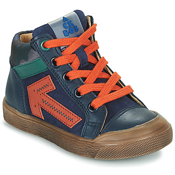 Schuhe Jungen Sneaker High Acebo's 5567-MARINO-I Marine