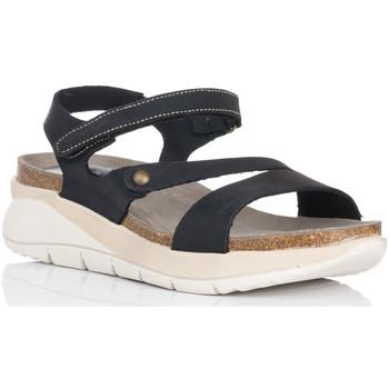Schuhe Damen Sandalen / Sandaletten Interbios 6901 Schwarz