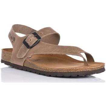 Schuhe Damen Sandalen / Sandaletten Interbios 7162 Beige