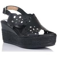 Schuhe Damen Sandalen / Sandaletten Zapp 7102 Schwarz