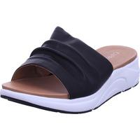 Schuhe Damen Pantoffel Caprice Damen Pantolette BLACK NAPPA 0