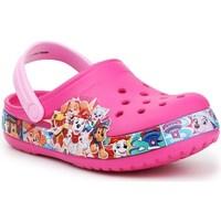 Schuhe Kinder Pantoletten / Clogs Crocs FL Paw Patrol Band Clog JR Rosa