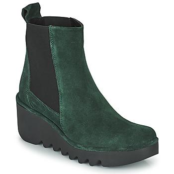 Schuhe Damen Low Boots Fly London BAGU Grün
