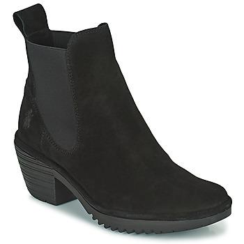 Schuhe Damen Low Boots Fly London WASP Schwarz