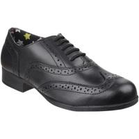 Schuhe Mädchen Derby-Schuhe Hush puppies  Schwarz