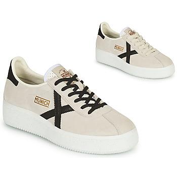 Schuhe Damen Sneaker Low Munich BARRU SKY Beige / Schwarz