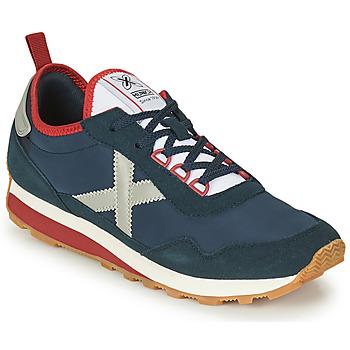 Schuhe Herren Sneaker Low Munich UM Blau / Grau / Rot