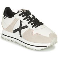Schuhe Damen Sneaker Low Munich MASSANA SKY Beige / Weiss / Schwarz