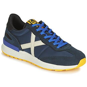 Schuhe Herren Sneaker Low Munich DYNAMO Blau / Weiss
