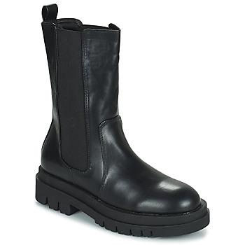 Schuhe Damen Boots Moony Mood PAULA Schwarz