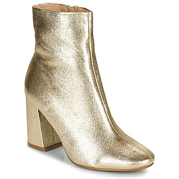 Schuhe Damen Low Boots Moony Mood PEDROLYN Goldfarben