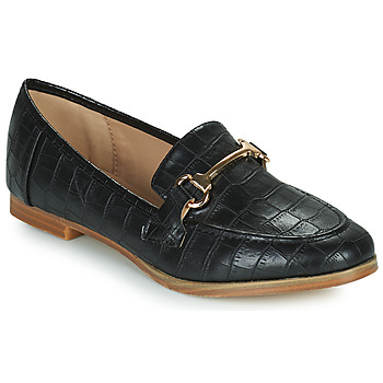 Schuhe Damen Slipper Moony Mood PRIVA Schwarz