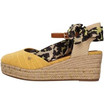 Schuhe Damen Sandalen / Sandaletten Wrangler WL11611A GELB