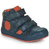 Schuhe Jungen Sneaker High Mod'8 TALYE Marine / Orange