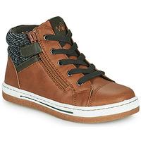 Schuhe Jungen Sneaker High Mod'8 KYNATA Cognac