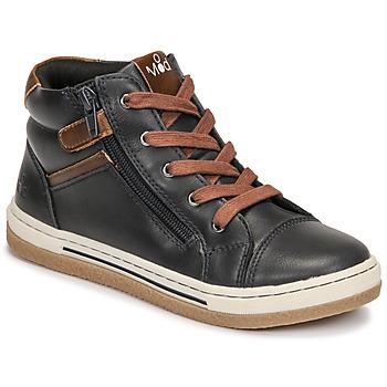Schuhe Jungen Sneaker High Mod'8 KYNATA Marine / Braun