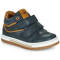 Schuhe Jungen Sneaker High Mod'8 KYNATOL Marine / Senf