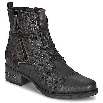 Schuhe Damen Boots Mustang 1229508 Schwarz