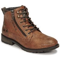 Schuhe Herren Boots Mustang 4140501 Cognac