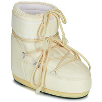 Schuhe Damen Schneestiefel Moon Boot MOON BOOT ICON LOW 2 Creme